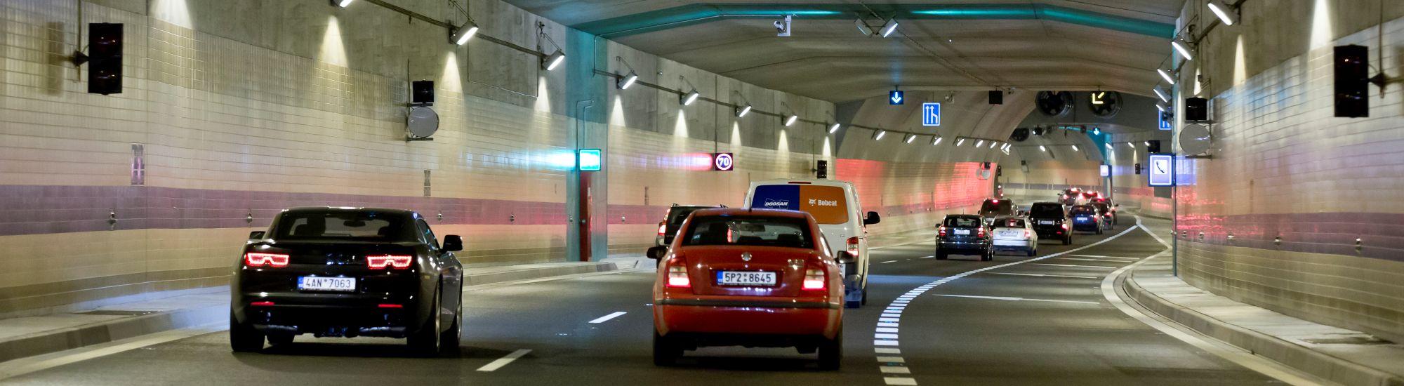 Intenzity dopravy v červenci 2017