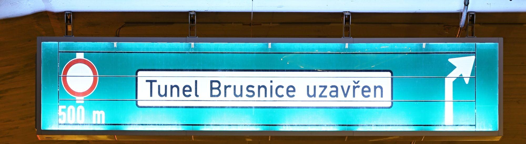 Uzávěra Brusnického a Dejvického tunelu 12.8.-13.8.2017