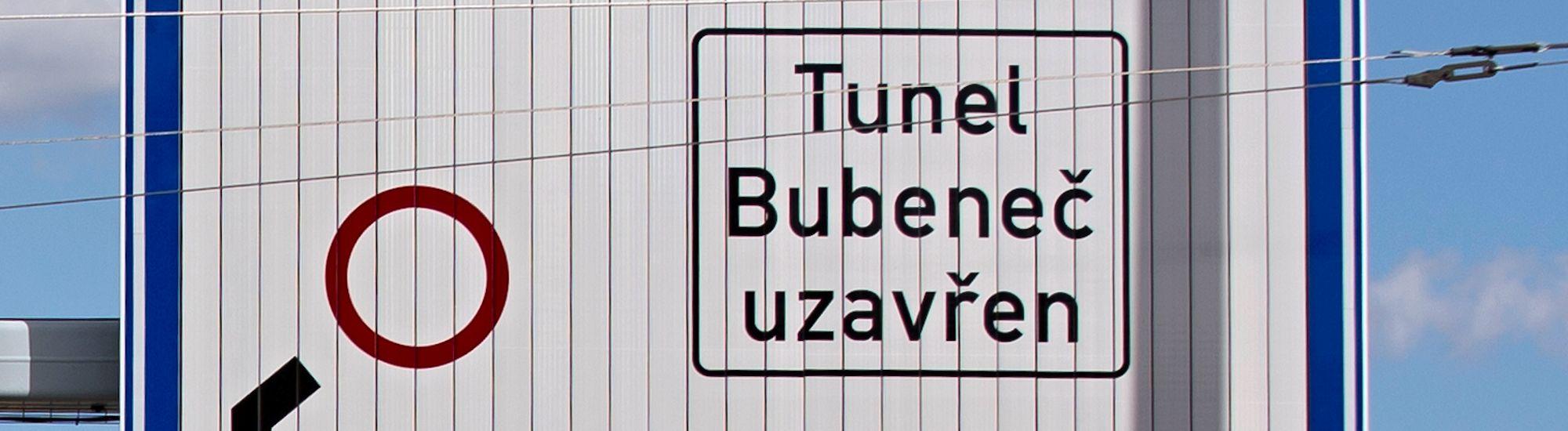 Uzávěra Bubenečského tunelu 25.3.2016 a 26.-27.3.2016