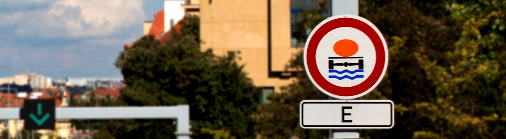Informace pro řidiče nákladních vozidel