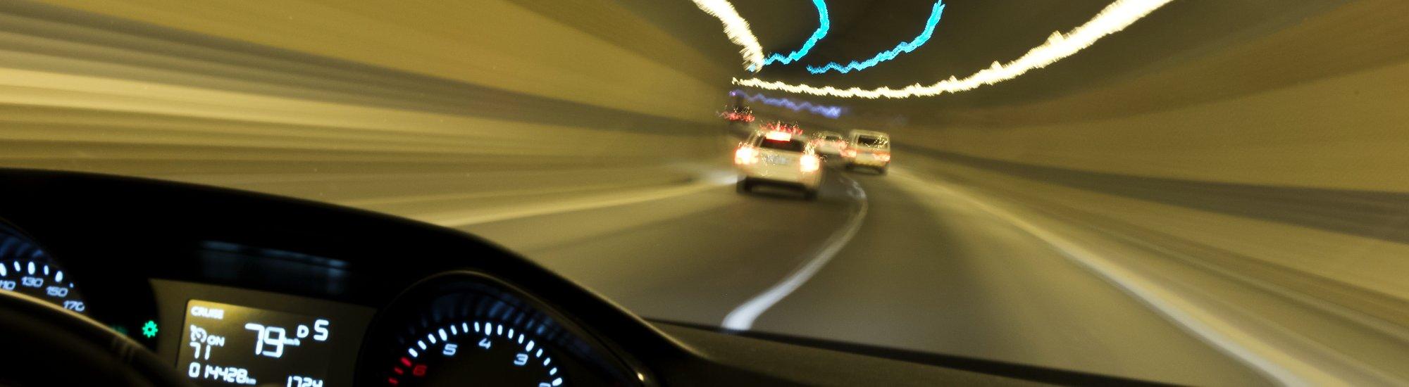 Pokutování rychlé jízdy